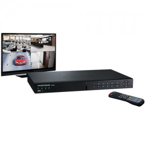 The GVR3550 supports all Grandstream IP Video surveillance cameras and IP Video Encoders/Decoders in addition to all ONVIF compliant IP Cameras. Users can view the live feed of up to 16 cameras simultaneously by connecting the GVR3550 to a TV or computer monitor or through remote access, and can save up to 16TB of video files on the device by connecting up to 4 hard drives.