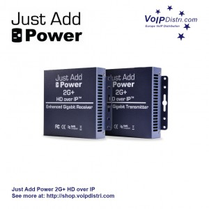 Just Add Power 2G+ HD over IP